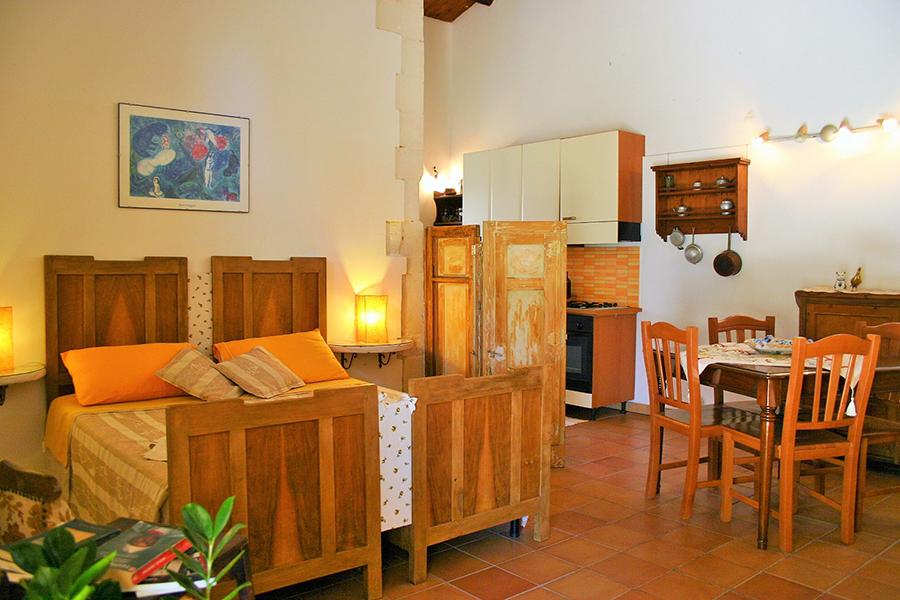 camere con bagno privato e cucina