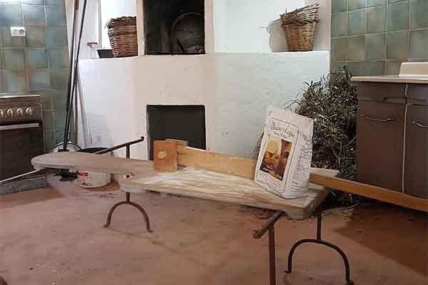cucina e forno a legna
