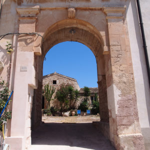 ingresso Casale Vinciucci a Modica