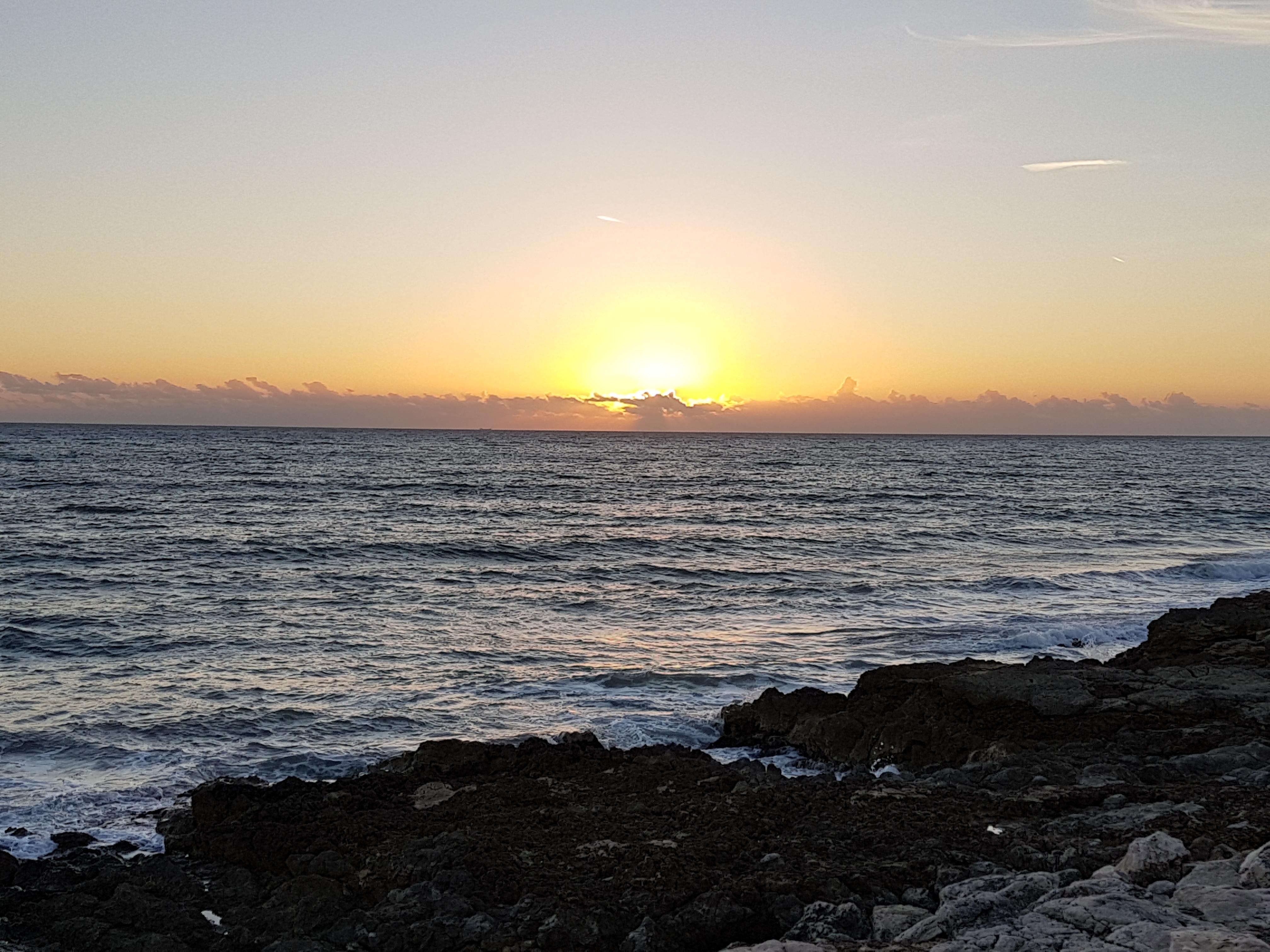 tramonto spiagge vicino modica